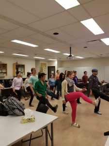 CSH members busting a move!