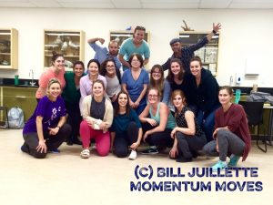 CSH Cohort members and Mr. Bill from Momentum Moves